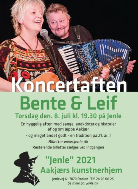 Koncert med Bent og Leif