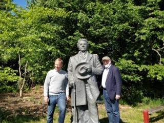 Johannes Nørregaard Frandsen og Mads Jessen på Jenle