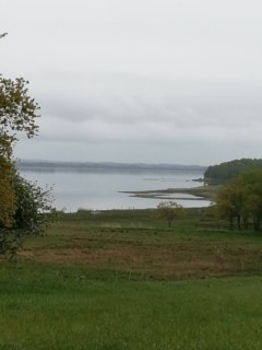 Naturen omkring Jenle - udsigt over Astrup vig