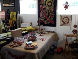 Jenle-arbejdende værksted- patchwork, broderi, knipling, vævning og strikning
