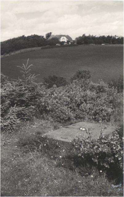 Jeppe Aakjærs gravsted på Jenle